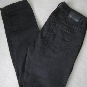 A/X Armani Exchange black skinny jeans size 2